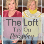 Thursday Try on session from the loft