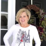 FASHION BLOGGER 50 Is Not Old styles a graphic Paris tee in multiple ways
