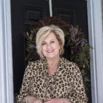 Fashion Blogger 50 Is Not Old is wearing the perfect leopard print top