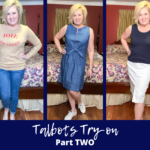 Fashion Blogger 50 Is Not Old showing how clothing looks on a real person instead of a model