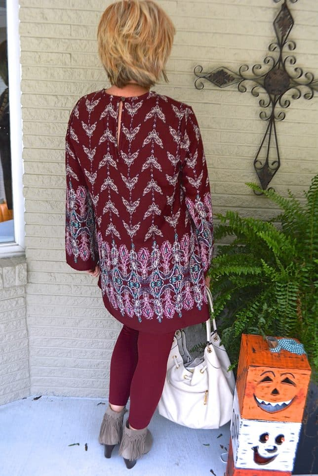 50 IS NOT OLD | TUNIC STYLE WITH LEGGINGS