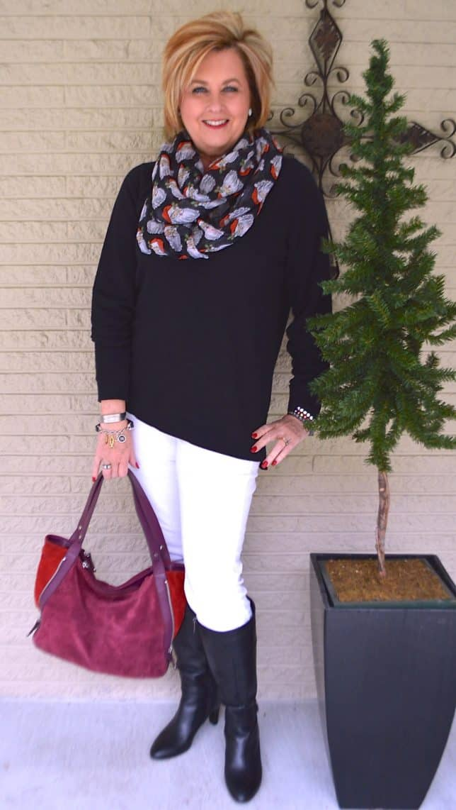 50 IS NOT OLD | CAN A SWEATSHIRT BE STYLISH