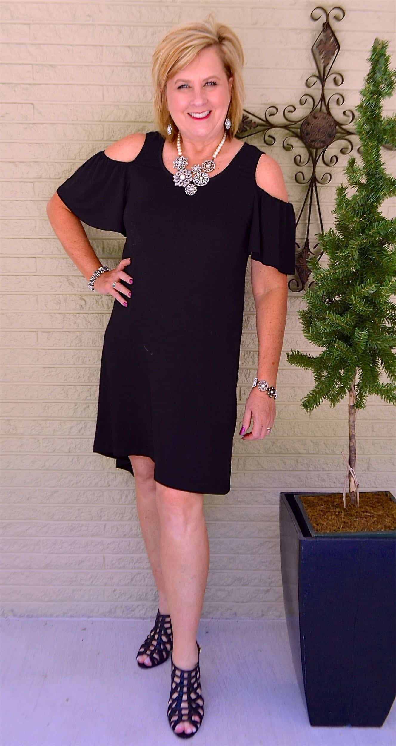 50 IS NOT OLD | THE PERFECT LITTLE BLACK DRESS