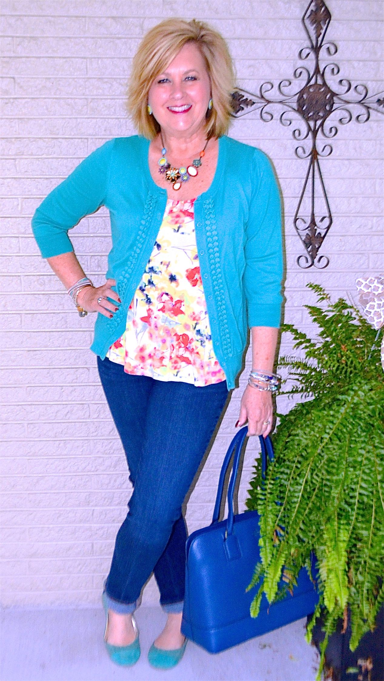 50 IS NOT OLD | WHY CHOOSE A PATTERNED TOP