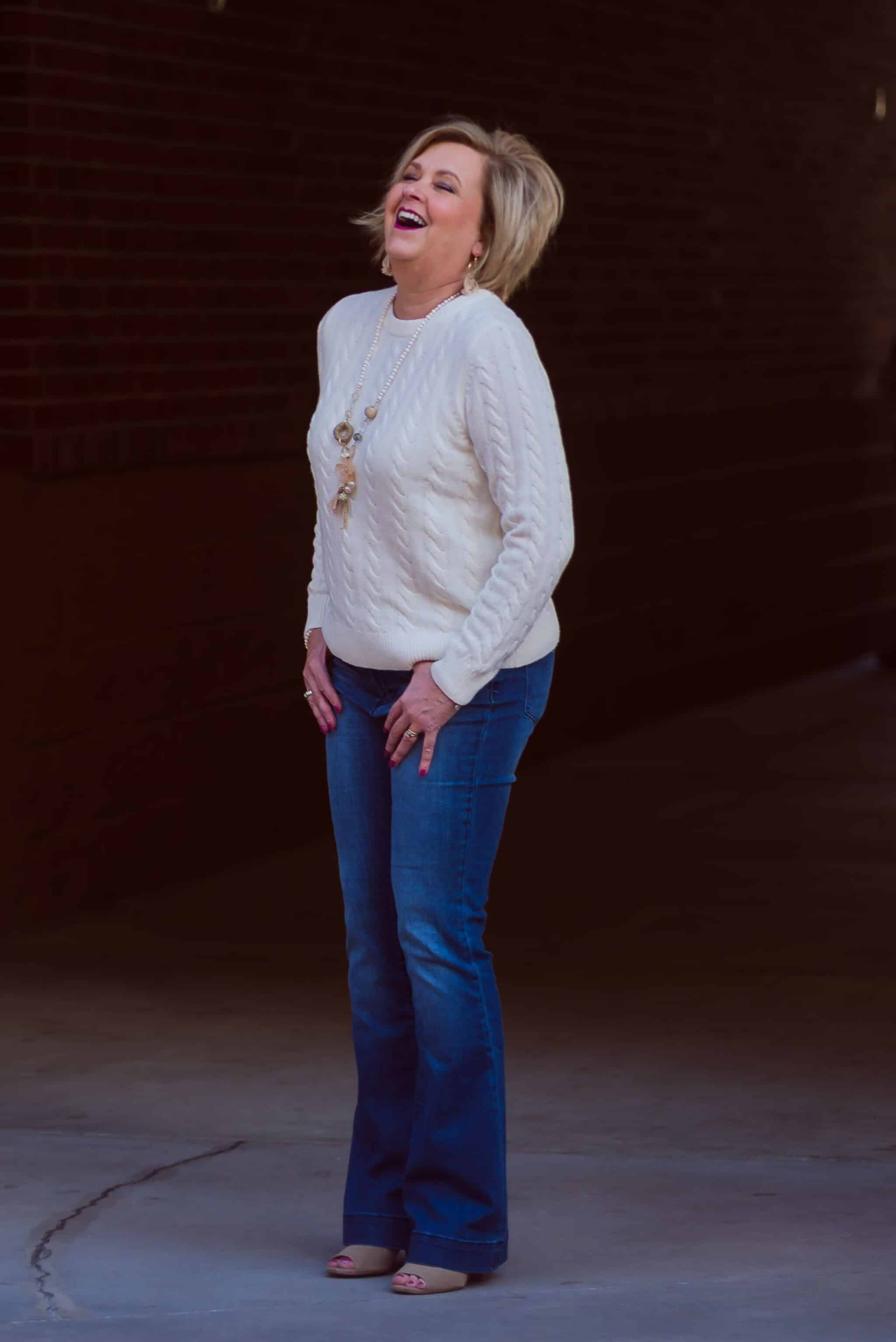 50 IS NOT OLD | CASUAL FRIDAY STYLE | FASHION OVER 40