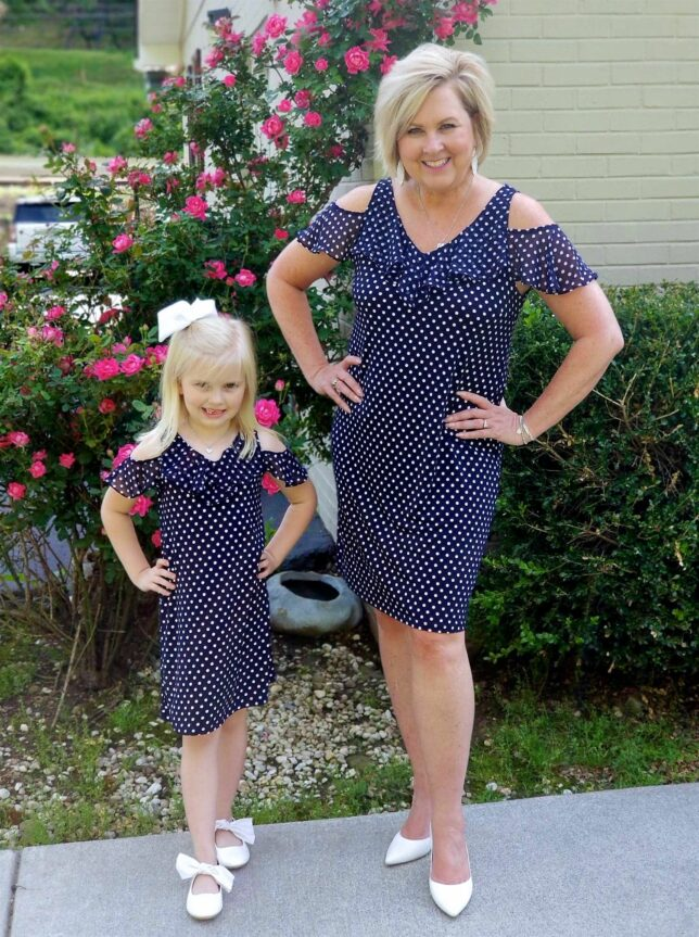 50 IS NOT OLD | MOMMY AND ME OUTFIT FOR MOTHER'S DAY | FASHION OVER 40