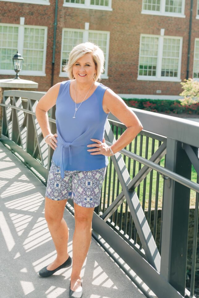 50 IS NOT OLD   WEARING SHORTS OVER 40   FASHION OVER 40