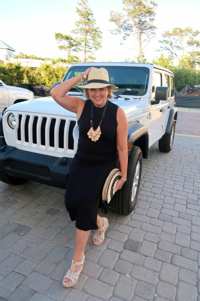 50 IS NOT OLD | HOW TO WEAR BLACK AND KHAKI | FASHION OVER 40