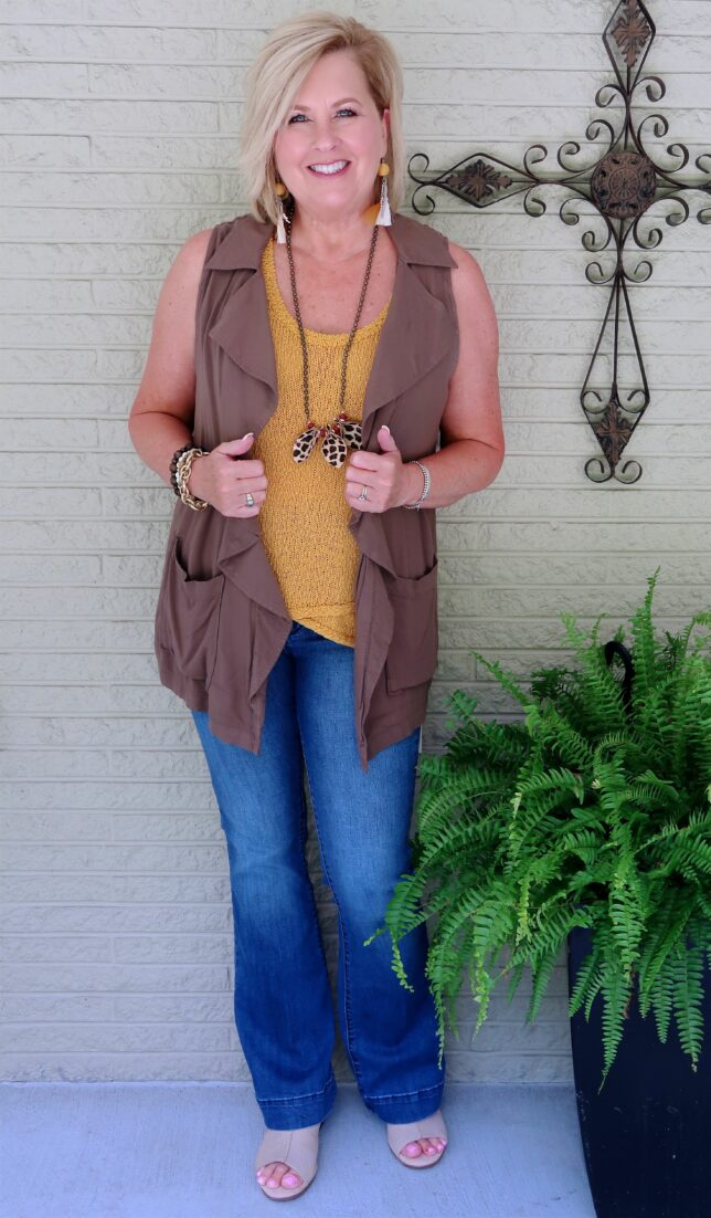 50 IS NOT OLD | FALL TRANSITION OUTFIT | FASHION OVER 40