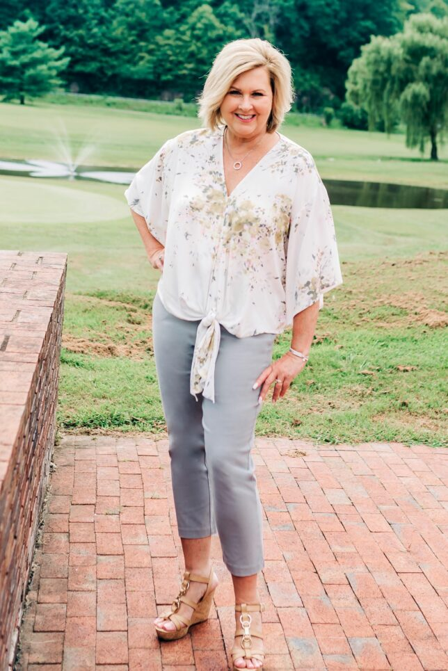 50 IS NOT OLD | MUTED COLORS FOR FALL | FASHION OVER 40
