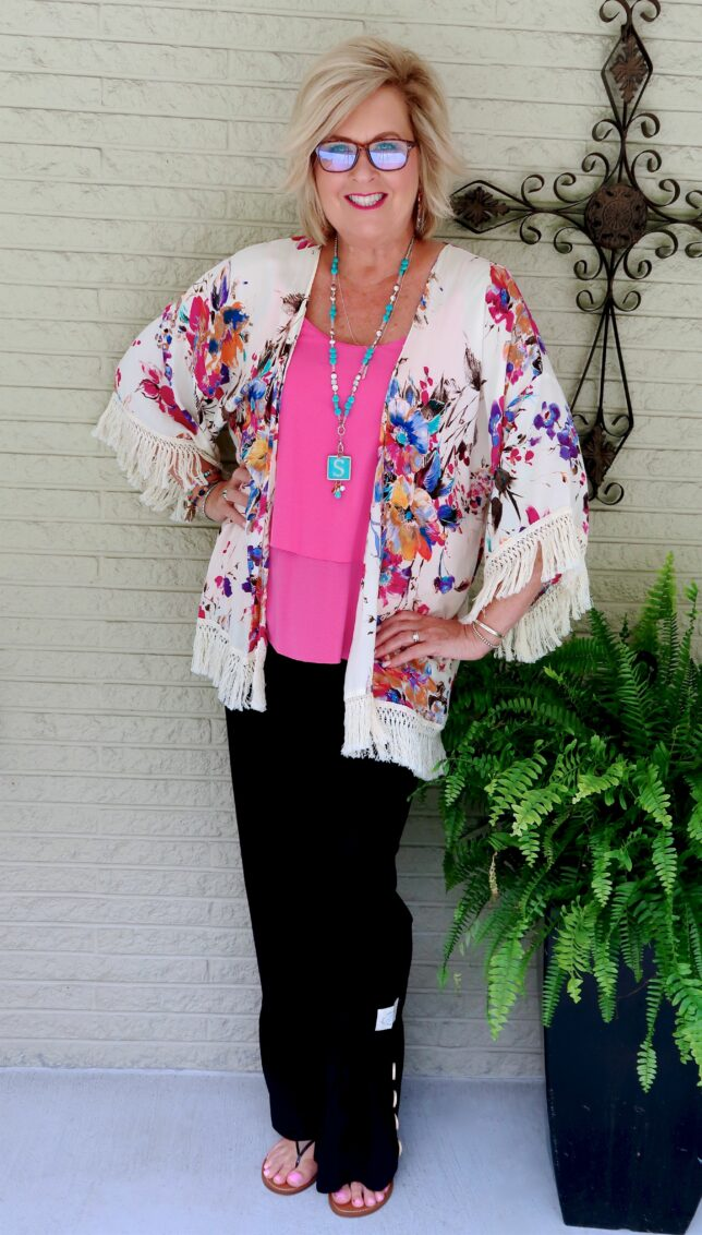 50 IS NOT OLD | HOW YOU WEAR A KIMONO IN DIFFERENT WAYS | FASHION OVER 40