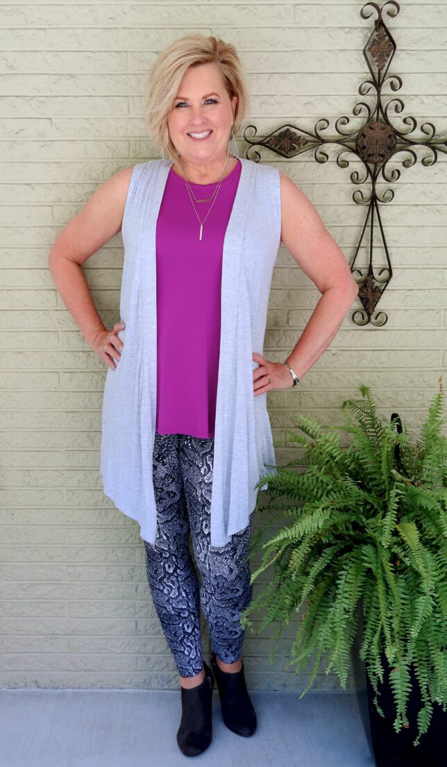 50 IS NOT OLD   RULES FOR WEARING LEGGINGS   FASHION OVER 40