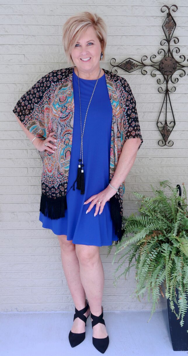 50 IS NOT OLD | ONE DRESS WORN FOUR WAYS | FASHION OVER 40