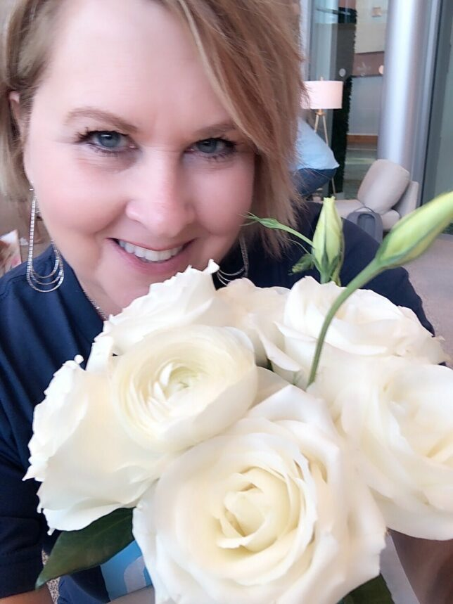50 IS NOT OLD   REMEMBER TO SMELL THE ROSES   FASHION OVER 40