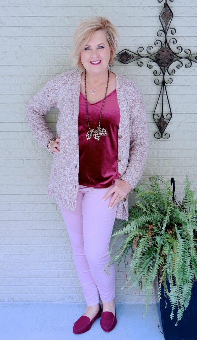 50 IS NOT OLD | PINK FOR BREAST CANCER AWARENESS | FASHION OVER 40