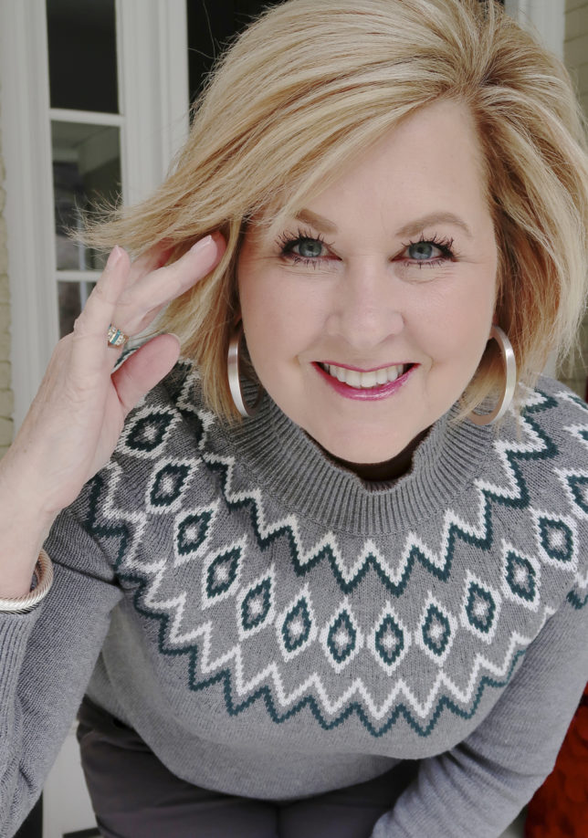 Longer looking lashes from fashion blogger 50 Is Not Old