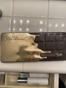 Too Faced Chocolate Bar eyeshadow palette