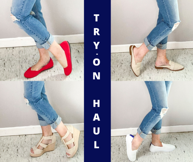 SPRING AND SUMMER TRY ON HAUL BY FASHION BLOGGER 50 IS NOT OLD