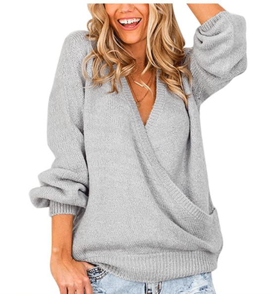 Silver sweater From Amazon