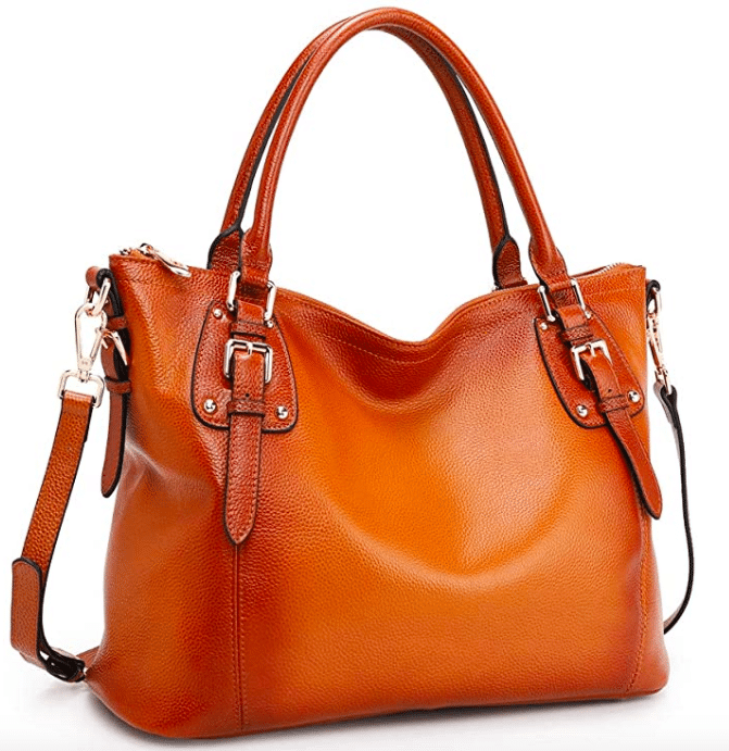 Leather handbag From Amazon